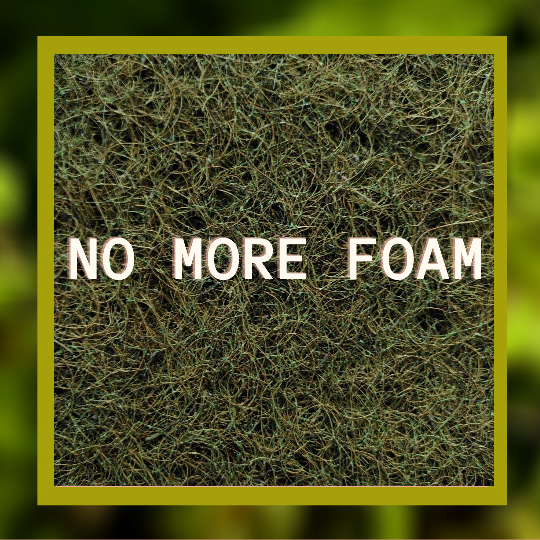 No More foam